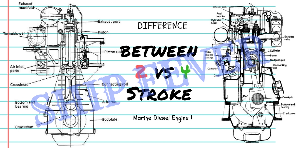 15 Accurate Difference Between 2 And 4 Stroke Marine Engine