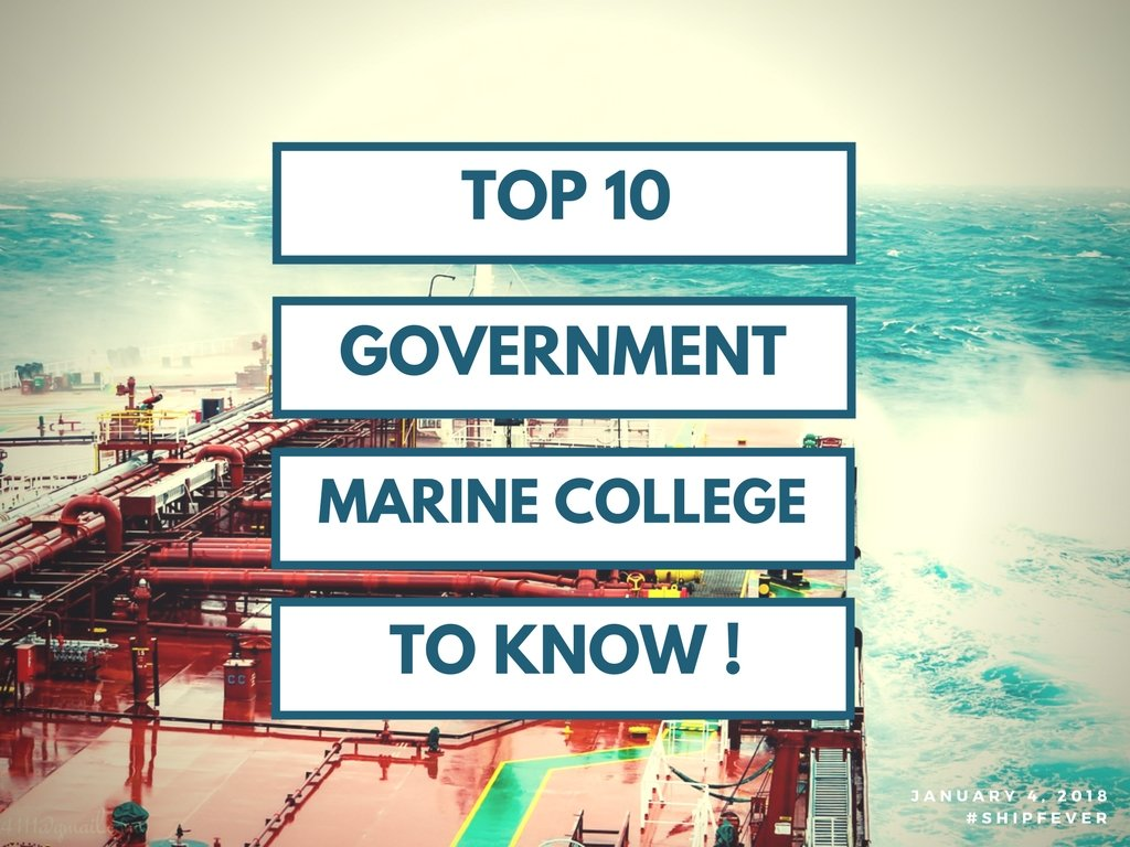 Top 10 Government Merchant Navy Colleges in India - ShipFever