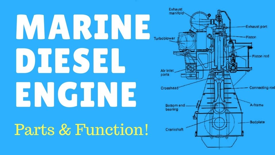 parts of diesel engine and their functions pdf