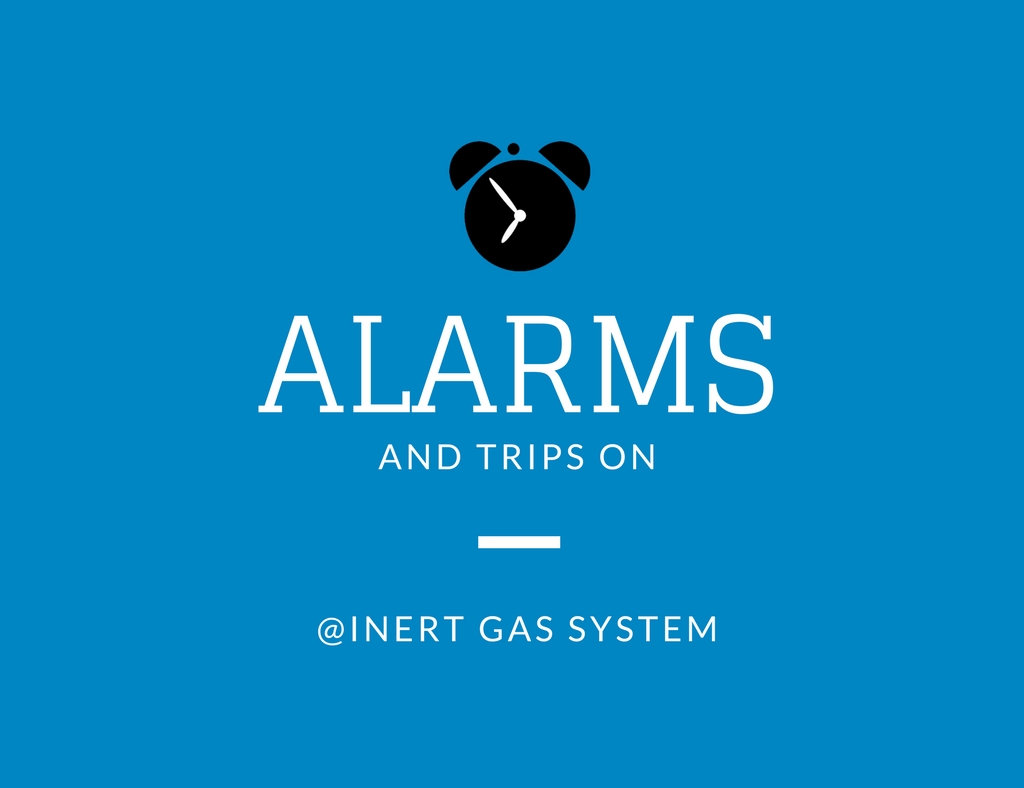 inert gas system alarms