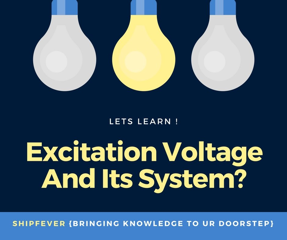 excitation voltage