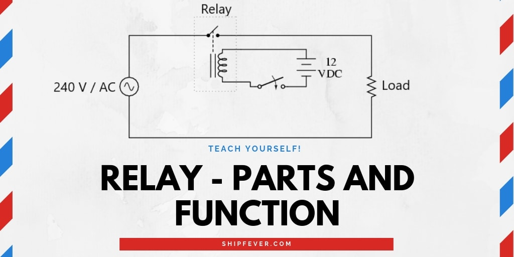 Relay - Its Application, Parts And Function