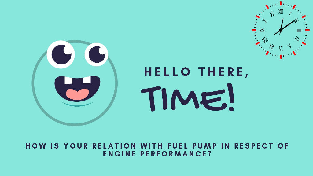 fuel pump timing relation with engine performance