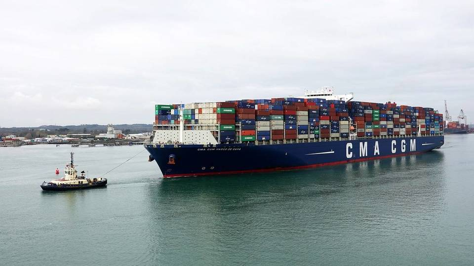 The CMA CGM Group ( A Container Shipping Companies )