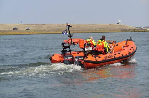 Lifeboat Used By Coast Guard peoples