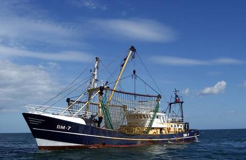 Diffrent Types Of Boat - A Fishing Boat Or Trawler